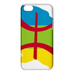 Kabylie Flag Map Apple Iphone 5c Hardshell Case