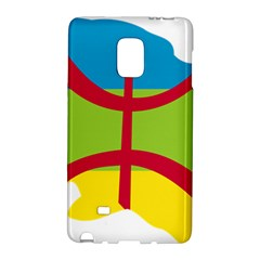 Kabylie Flag Map Samsung Galaxy Note Edge Hardshell Case