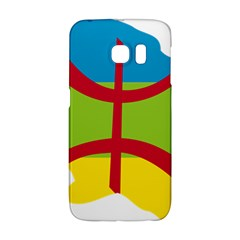 Kabylie Flag Map Samsung Galaxy S6 Edge Hardshell Case