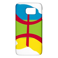 Kabylie Flag Map Samsung Galaxy S6 Hardshell Case