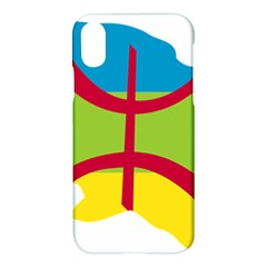 Kabylie Flag Map Apple Iphone X Hardshell Case