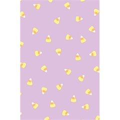 Candy Corn (purple) 5 5  X 8 5  Notebook by JessisArt