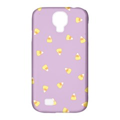 Candy Corn (purple) Samsung Galaxy S4 Classic Hardshell Case (pc+silicone)