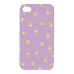 Candy Corn (purple) Apple Iphone 4/4s Hardshell Case