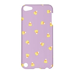 Candy Corn (purple) Apple Ipod Touch 5 Hardshell Case by JessisArt