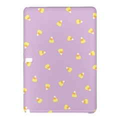 Candy Corn (purple) Samsung Galaxy Tab Pro 12 2 Hardshell Case by JessisArt