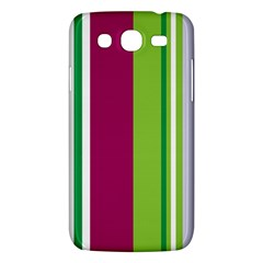 Beautiful Multi Colored Bright Stripes Pattern Wallpaper Background Samsung Galaxy Mega 5 8 I9152 Hardshell Case