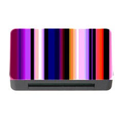Fun Striped Background Design Pattern Memory Card Reader With Cf by Jojostore