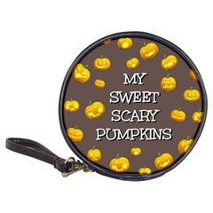 Scary Sweet Funny Cute Pumpkins Hallowen Ecard Classic 20-cd Wallets