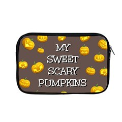 Scary Sweet Funny Cute Pumpkins Hallowen Ecard Apple Macbook Pro 13  Zipper Case by Jojostore