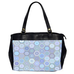 Bee Hive Background Oversize Office Handbag (2 Sides) by Jojostore