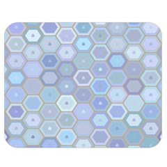 Bee Hive Background Double Sided Flano Blanket (medium)