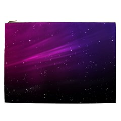 Purple Wallpaper Cosmetic Bag (xxl)