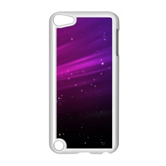 Purple Wallpaper Apple Ipod Touch 5 Case (white)