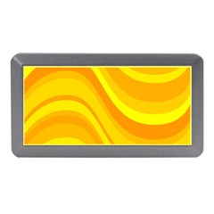 Orange Yellow Background Memory Card Reader (mini)