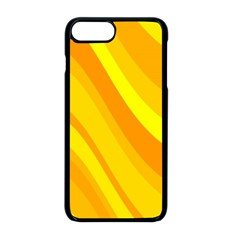 Orange Yellow Background Apple Iphone 8 Plus Seamless Case (black)