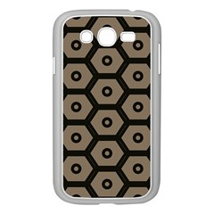 Black Bee Hive Texture Samsung Galaxy Grand Duos I9082 Case (white)