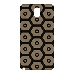 Black Bee Hive Texture Samsung Galaxy Note 3 N9005 Hardshell Back Case by Jojostore
