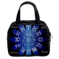 Astrology Birth Signs Chart Classic Handbag (two Sides) by Jojostore