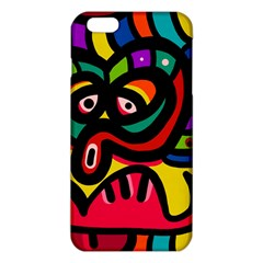 A Seamless Crazy Face Doodle Pattern Iphone 6 Plus/6s Plus Tpu Case by Jojostore