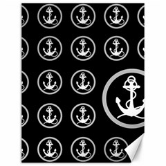 Anchor Pattern Canvas 12  X 16