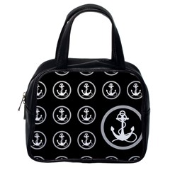 Anchor Pattern Classic Handbag (one Side) by Jojostore