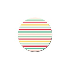 Papel De Envolver Hooray Circus Stripe Red Pink Dot Golf Ball Marker (4 Pack) by Jojostore