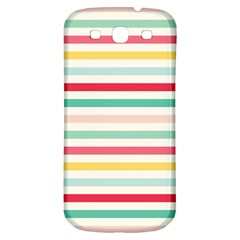 Papel De Envolver Hooray Circus Stripe Red Pink Dot Samsung Galaxy S3 S Iii Classic Hardshell Back Case by Jojostore