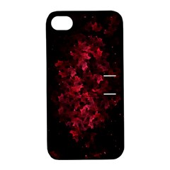 Background Scrapbooking Paper Apple Iphone 4/4s Hardshell Case With Stand by Jojostore