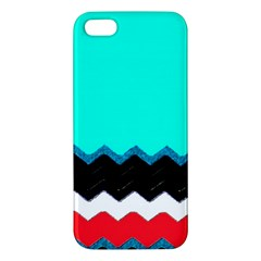 Pattern Digital Painting Lines Art Iphone 5s/ Se Premium Hardshell Case