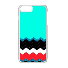 Pattern Digital Painting Lines Art Apple Iphone 7 Plus Seamless Case (white)