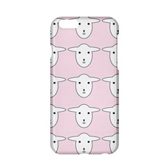 Sheep Wallpaper Pattern Pink Apple Iphone 6/6s Hardshell Case