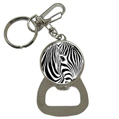 Animal Cute Pattern Art Zebra Bottle Opener Key Chains by Jojostore