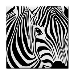 Animal Cute Pattern Art Zebra Face Towel