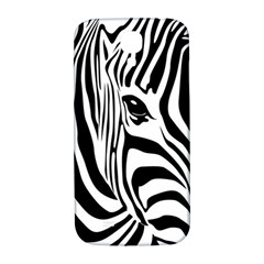 Animal Cute Pattern Art Zebra Samsung Galaxy S4 I9500/i9505  Hardshell Back Case by Jojostore
