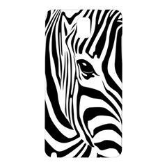 Animal Cute Pattern Art Zebra Samsung Galaxy Note 3 N9005 Hardshell Back Case by Jojostore