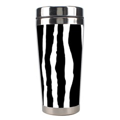 Zebra Background Pattern Stainless Steel Travel Tumblers by Jojostore