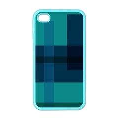 This High Quality Image Is A Bunch Of Different Size Boxes That Are Place Abstractly Apple Iphone 4 Case (color)
