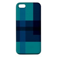 This High Quality Image Is A Bunch Of Different Size Boxes That Are Place Abstractly Iphone 5s/ Se Premium Hardshell Case