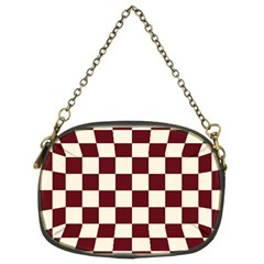 Pattern Background Texture Chain Purse (two Sides)