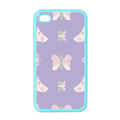 Butterfly Butterflies Merry Girls Apple Iphone 4 Case (color)