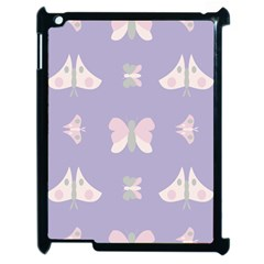 Butterfly Butterflies Merry Girls Apple Ipad 2 Case (black)