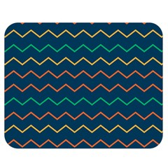 Pattern Zig Zag Colorful Zigzag Double Sided Flano Blanket (medium)