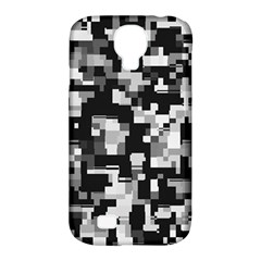Noise Texture Graphics Generated Samsung Galaxy S4 Classic Hardshell Case (pc+silicone)