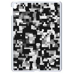 Noise Texture Graphics Generated Apple Ipad Pro 9 7   White Seamless Case