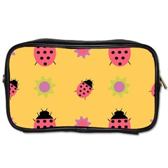 Ladybug Seamlessly Pattern Toiletries Bag (one Side)