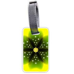 Christmas Flower Nature Plant Luggage Tags (one Side)