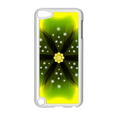 Christmas Flower Nature Plant Apple Ipod Touch 5 Case (white) by Sapixe