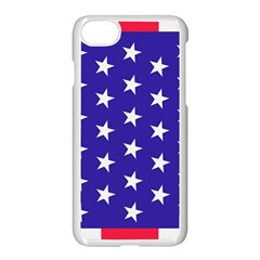 Day Independence July Background Apple Iphone 7 Seamless Case (white)