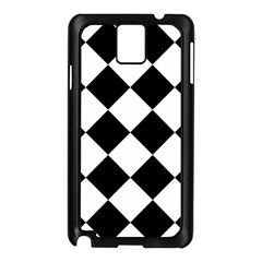 Grid Domino Bank And Black Samsung Galaxy Note 3 N9005 Case (black) by Sapixe